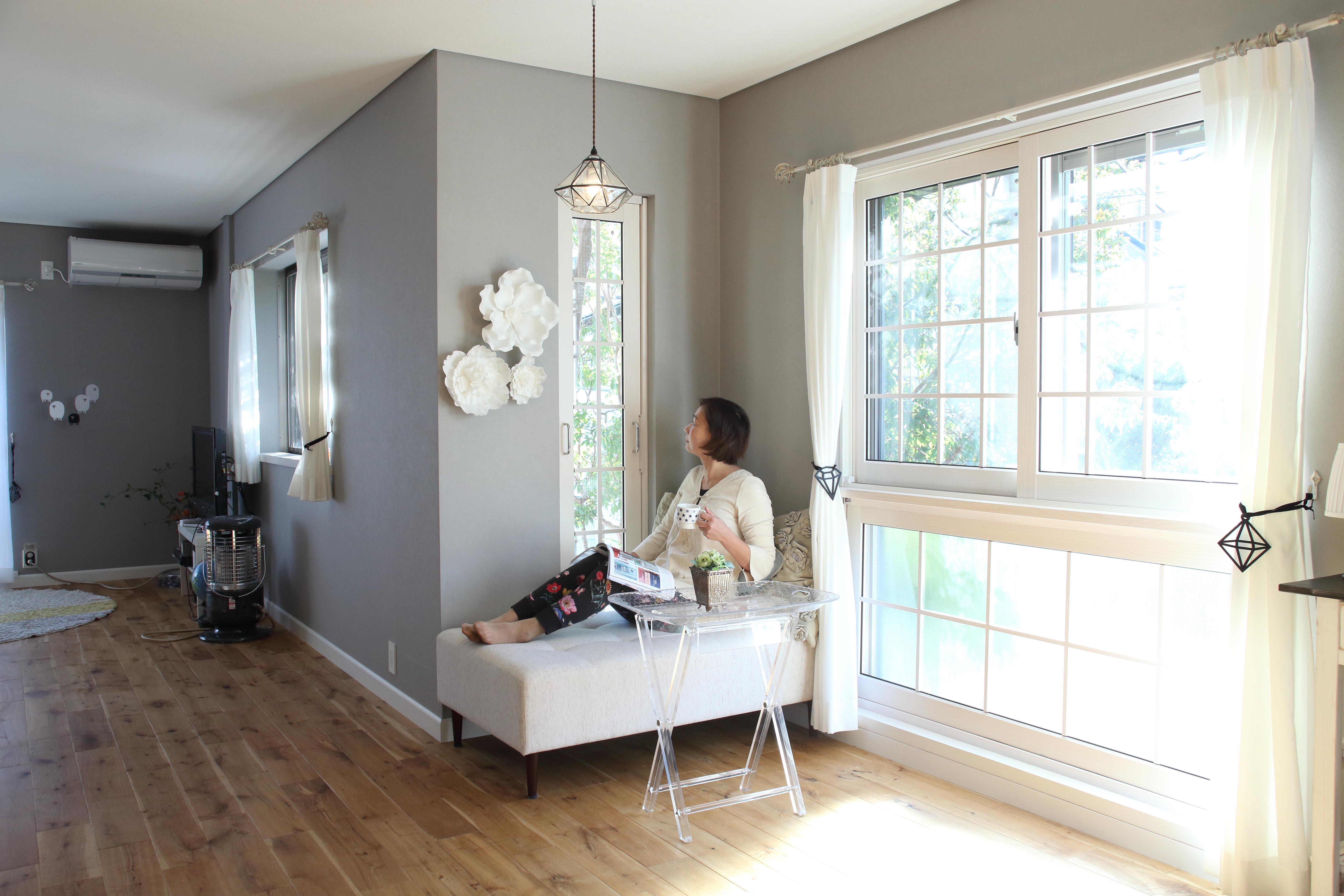 デザイン性と機能性を併せ持つ内窓のプチリノベーション